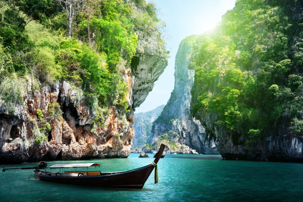 Railay Bay Krabi Thailand
